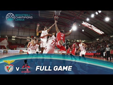 Benfica (POR) v Lukoil Academic (BUL) - Full Game - Basketball Champions League 17-18