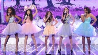 Fifth Harmony Anything Could Happen - Live Week 7: Semifinal - The X Factor USA 2012