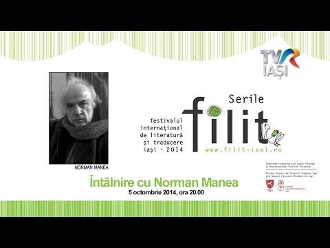Întâlnire cu Norman Manea