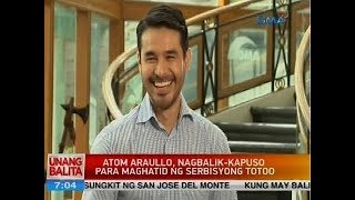 UB: Atom Araullo, nagbalik-Kapuso para maghatid ng serbisyong totoo