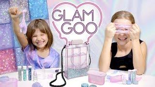 Glam Goo, SLIME w torebce, pierścionku i naszyjniku, Dziewczyny Testują