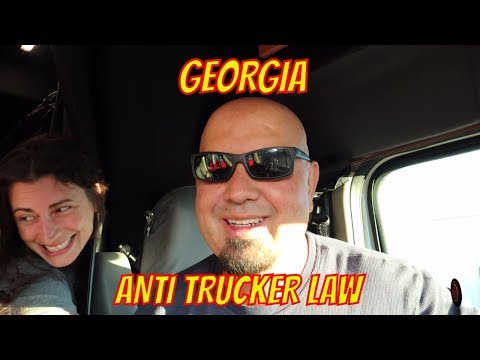 ANTI TRUCKER LAW IN GEORGIA - NEWS FROM CDLLIFE.COM