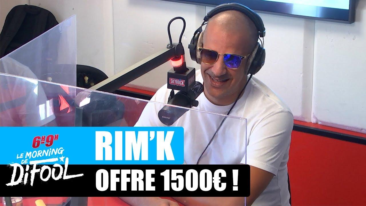 Rim'K offre 1500€ à une auditrice ! #MorningDeDifool