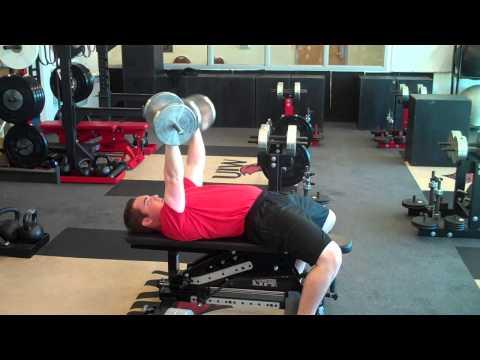 Alternating Db bench press