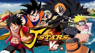 Goku & Luffy VS Naruto & Ichigo  JStars Victory VS + Duels