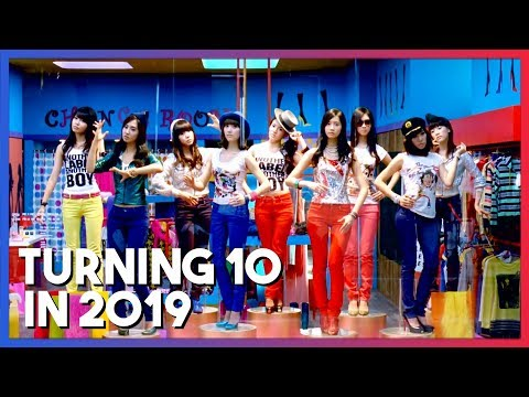 KPop songs that will turn/turned 10 years old in 2019