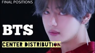 BTS - Center Distribution (ALL FINAL POSITIONS )