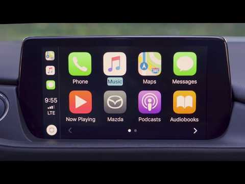 Mazda's Infotainment System Finally Gets CarPlay!
