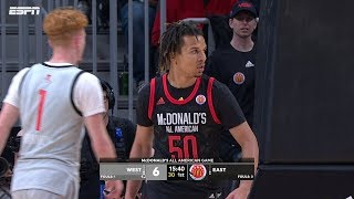 2019 McDonald's All American Game: Cole Anthony stands out to win MVP!