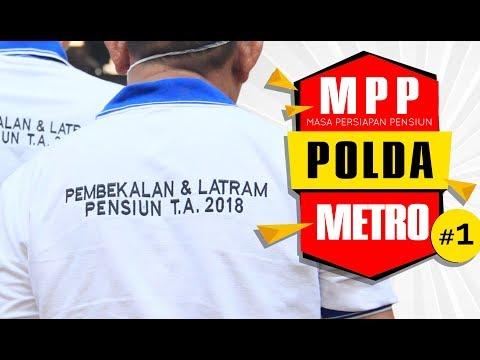 Pelatihan Persiapan Masa Pensiun Pegawai dan Polisi di Polda Metro Jaya