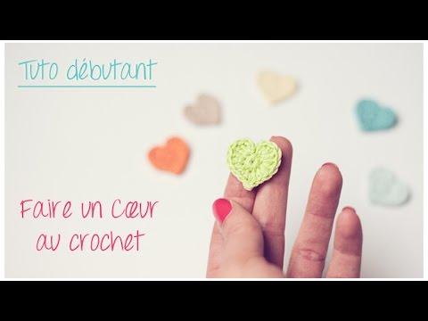 Mini Coeur Au Crochet Pour Débutant Crochet An Easy Tiny