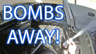 Putting a BUG BOMB in a Small Car!