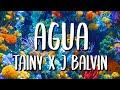 J Balvin Tainy Agua Letra Lyrics von
