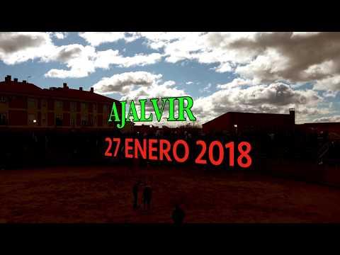 ENCIERRO AJALVIR 27 ENERO 2018