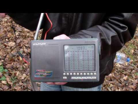 Принимаем SSB: приемник и антенна Деген (полевые условия)...