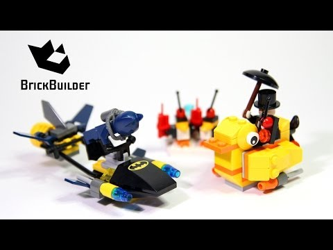 Vidéo LEGO DC Comics Super Heroes 76010 : Batman : l'affrontement avec le Pingouin