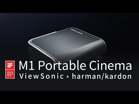 ViewSonic M1 LED Harman/Kardon Portable Projector