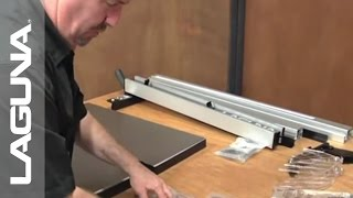 Fusion Tablesaw Setup - Unboxing the Accessories -Part 4 of 18