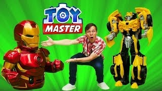 Той Мастер - Трансформеры для мальчиков - Игрушки супергерои