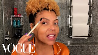 Taraji P. Henson's Guide to Defined Curls & Post-Flight Skin Care | Beauty Secrets | Vogue