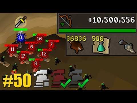 I Gained 10,000,000 Ranged XP In 1 Day (Maxing Every Ironman Mode #50)