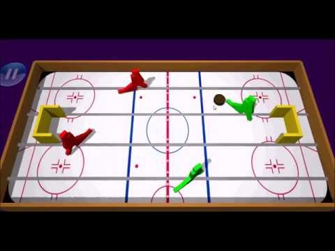 Video of Table Ice Hockey 3d