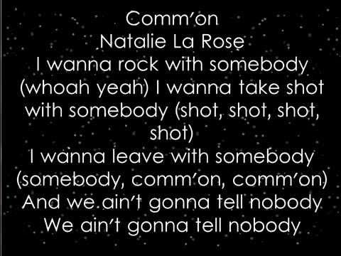 Natalie La Rose - Somebody ft. Jeremih (Lyrics) Updated (2)