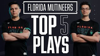 Frosty's INCREDIBLE 1v4 ACE, Mutineers DOMINATE FaZe & More — Top 5 @Florida Mutineers Plays of 2020