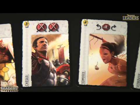 Drakkenstrike's 7 Wonders Leaders Components Breakdown Video Review Series in HD
