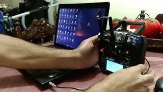 Flysky fs-i6 + simulador fpv-freerider (en español)