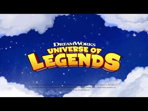 Vídeo do DreamWorks Universe of Legends