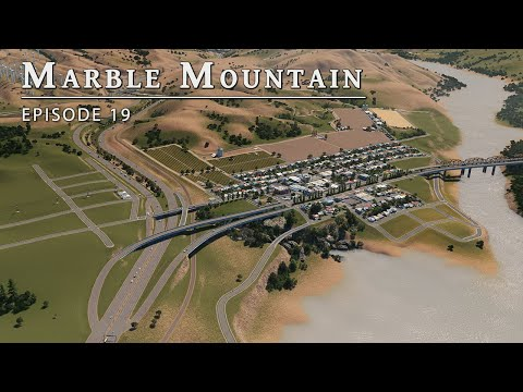 Farming Town - Cities Skylines: Marble Mountain EP 18
