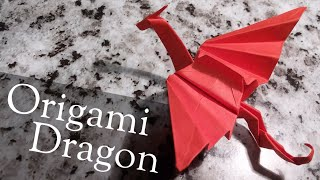 Origami Dragon - Slow, Step By Step Tutorial