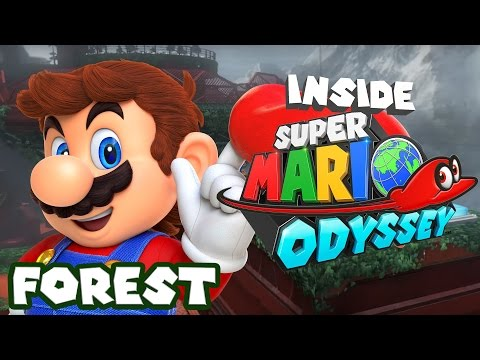 Inside Super Mario Odyssey - Forest / Greenhouse World