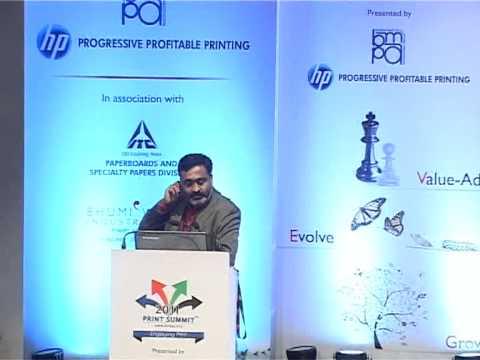 Print Summit 2011 : Panelist 2 Dr.Rajendrakumar Anayath at BMPA Print Summit 2011