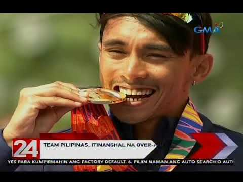 [GMA]  24 Oras: Team Pilipinas, itinanghal na over-all champion sa pagtatapos ng 30th SEA Games