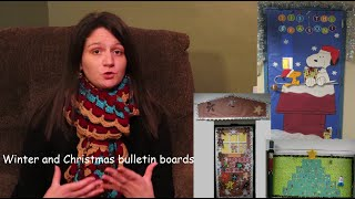 CHRISTMAS & WINTER BULLETIN BOARDS: CONNECTING ACADEMIC & CLASSROOM COMMUNITY LESSONS TO THEM