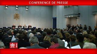 Conférence de presse à l'occasion  de la XVème Assemblée générale ordinaire du synode des évêques