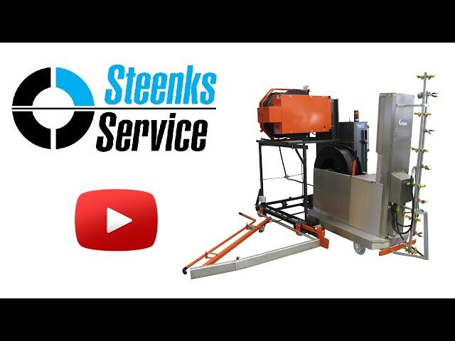YouTube video | Spuitrobot-transportwagen t.b.v. Meto