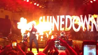 Shinedown - Intro + Adrenaline La Crosse 2016