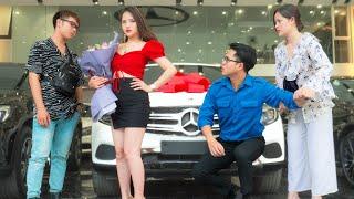 Ex-Girlfriend Humiliates Car Salesman, Then Instantly Regret Her Decision | RKM TEAM