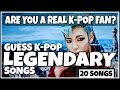 Download Video GUESS KPOP LEGENDARY SONGS | CAN YOU GUESS ALL 20 SONGS?