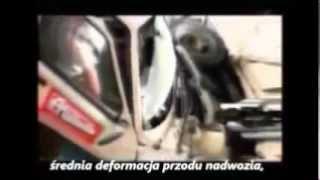 Tavria crash test V=70-75km/h (Tavria sedan zwana
