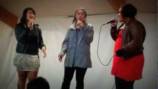 "Excel girls sing ""Gospel Medley"" by Destiny's Child"