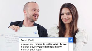 Aaron Paul & Emily Ratajkowski Answer the Web's Most Searched Questions | WIRED