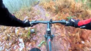 preview picture of video 'VTT panazol, descente, Single Track'