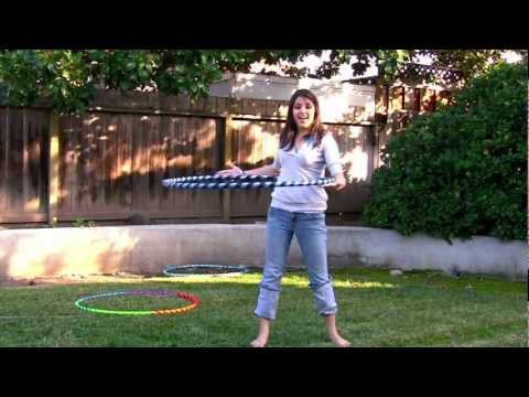 Learn to Hoop Dance - Waist Hooping Tutorial