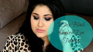 Image for video on Easy Black Smokey Eye Tutorial & Makeup Baking'Technique by Ikya Kesiraju