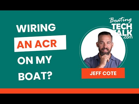Wiring An ACR or Battery Combiner on my Boat?