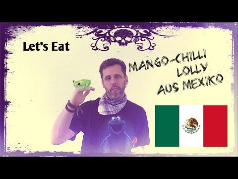 Let's Eat Mango Chili Lolly von Beny ♥ SweetsChecker ♥ Süßigkeiten Vorstellung und Test